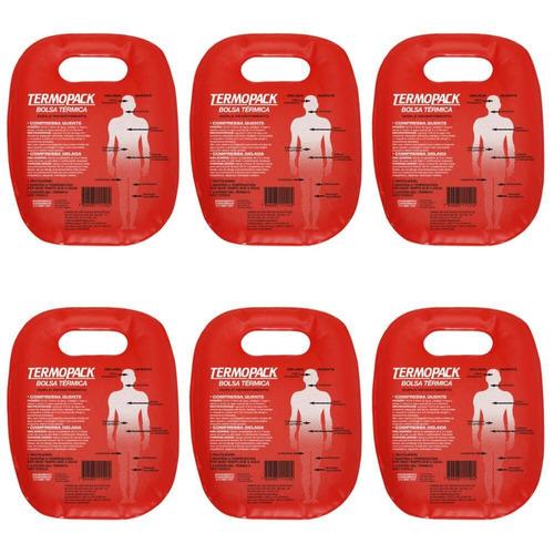 termogel bolsa de gel termopack (kit c/06)