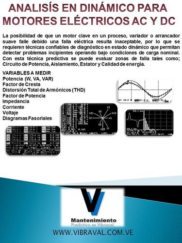 termografia balanceo alineacion vibraciones ultrasonido