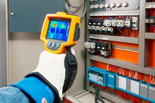 termografía en planta industrial x 20 equipos