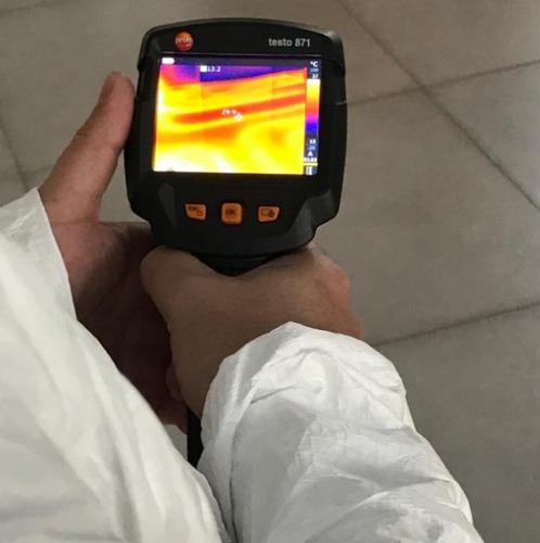 termografía perdidas fuga agua fría o caliente calefacción