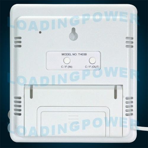 termohigrômetro interno/externo+certificado rastread inmetro