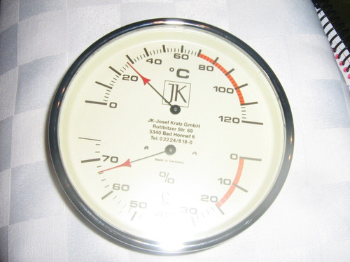 termohigrometro para baño sauna (aleman)