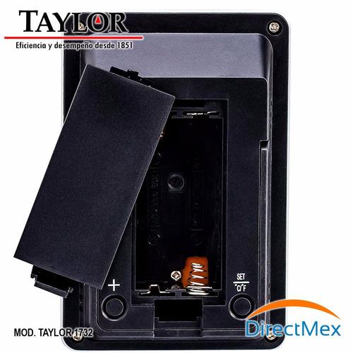 termohigrómetro para farmacias taylor 1732