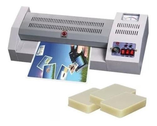 termolaminadora plastificadora a3 + 100 micas / envío gratis