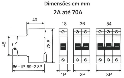 termomagnetica steck tripolar 25a 3ka sdd63c25