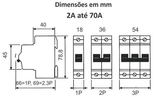 termomagnetica steck tripolar 32a 3ka sdd63c32