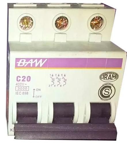termomagnetica tripolar 32a llave termica 3x32 baw 3ka