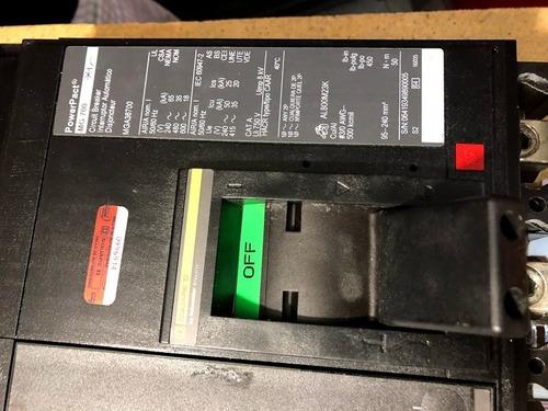termomagnetico squard d 700amp modelo mga36700