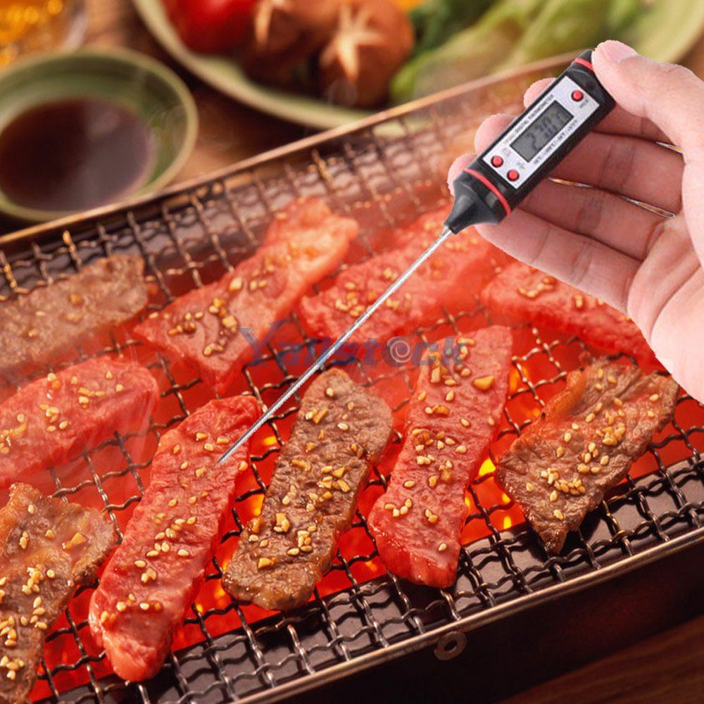 Termometro alimentos carnes digital punzon temperatura for Termometro digital cocina