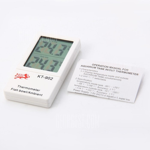termómetro ambiental