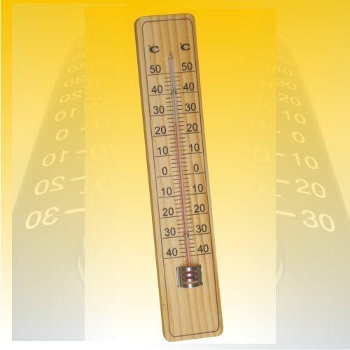 termómetro ambiental.