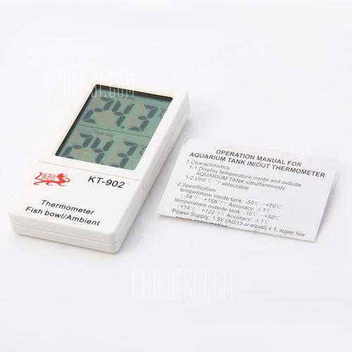 termometro ambiental y de acuarios