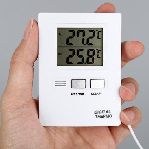 termometro automatico freezer agua geladeira interno externo