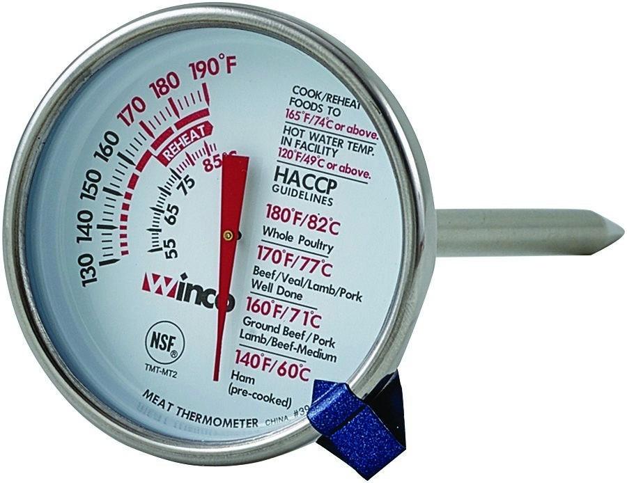 Termometro carne rojo y blanca cocina inox sonda 13 cms for Bazar del cocinero