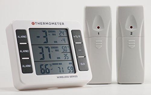 termómetro congelador refrigerador por ethermometer - inclu