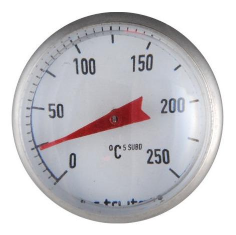 termómetro de bolsillo / aguja para carnes y líquidos 250°c