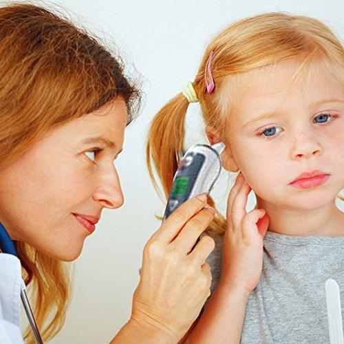termómetro de frente y oído  termómetro para bebés rápido y