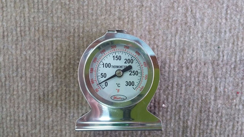 termometro de horno barro, panaderia, cocina, temp.50-300ºc
