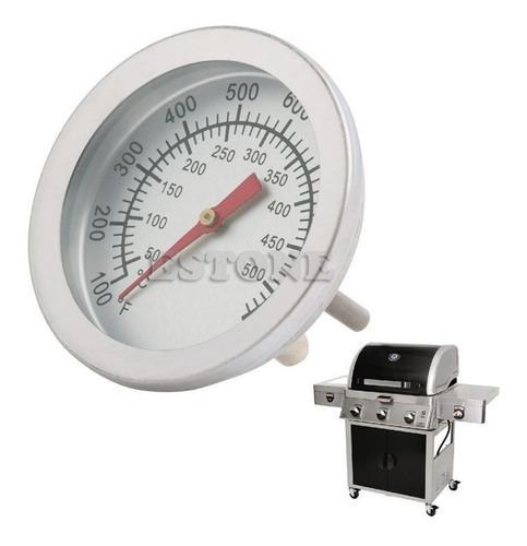 termometro de horno parrilla 50° hasta 500° acero inoxidable