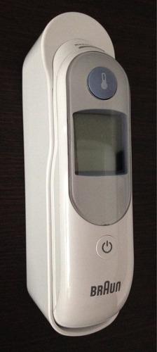 termometro de oido braun con crema de calendula de regalo