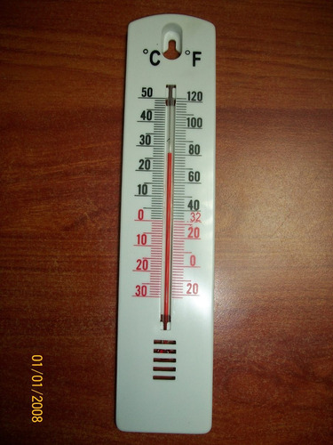 termómetro de pared ambiental