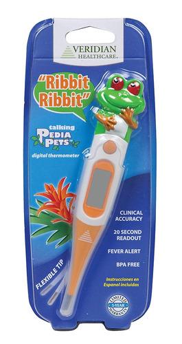 termómetro de  segundos de rana parlante pediapets