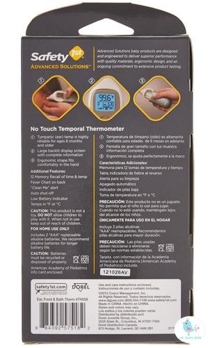 termómetro digital 3 en 1 oido comida baño safety th058