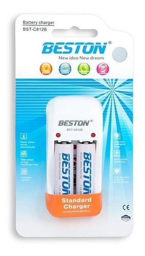 termómetro digital berrcom + cargador y pilas recargables