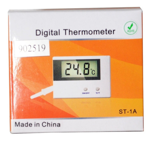 termómetro digital bulbo -50 +80ºc  temperatura bulbo st-1a