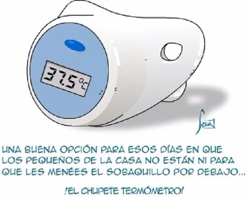 termómetro digital chupa infantil nuevo