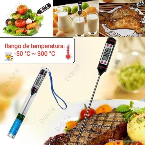termometro digital cocina alimentos chocolate reposteria