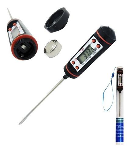 termometro digital cocina con sonda alimentos liquidos carne