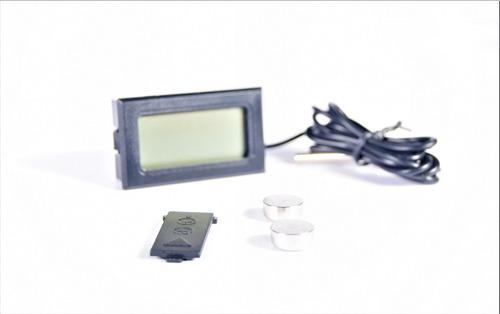 termómetro digital con cable sensor y 2 pilas ag13 sin caja