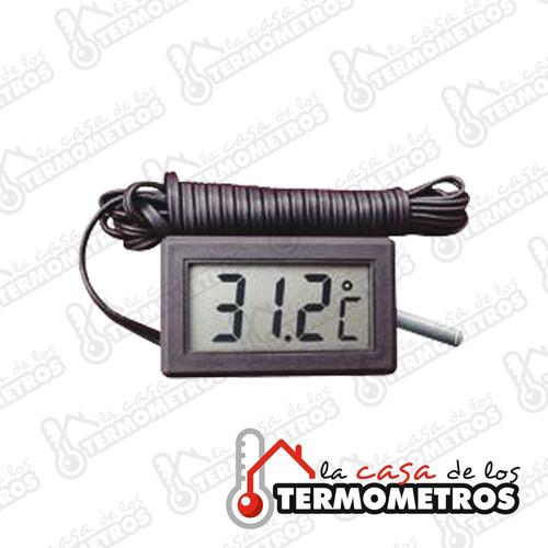termómetro digital con sensor externo de 3 metros heladera