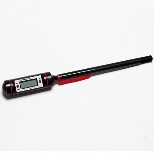 termómetro digital con sonda para cocina, líquidos y sólidos