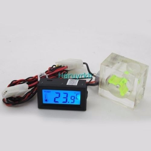 termómetro digital de co2 medidor flujo de agua