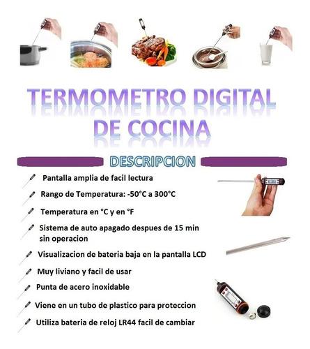 termómetro digital de cocina, chef repostería carnes!!!