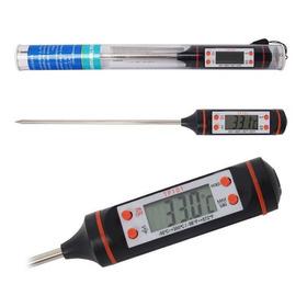 Termómetro Digital De Cocina Punzón Sonda Temperatura Comida