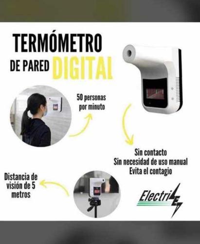 termómetro digital de pared infrarrojo k3