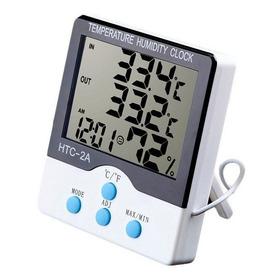 Termometro Digital Higrometro Temperatura Humedad Con Sonda