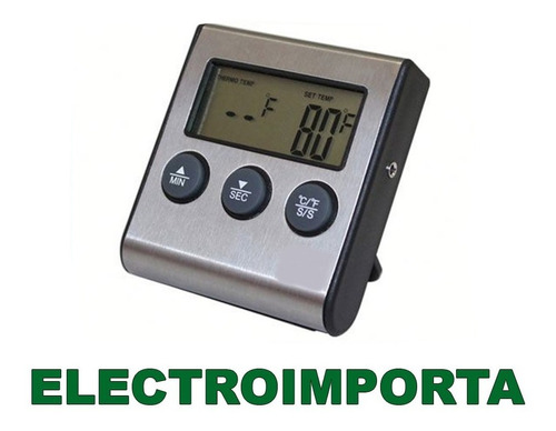 termometro digital horno con sonda timer electroimporta