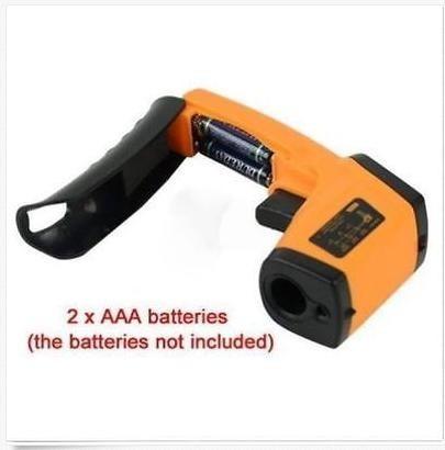 termometro digital infrarojo pistola