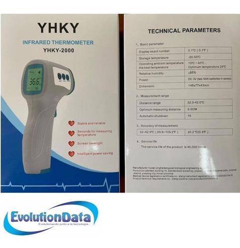 termometro digital infrarrojo fda disponibilidad inmediata