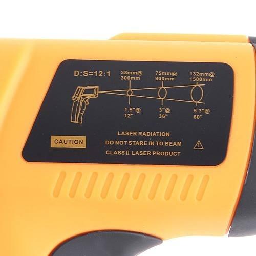 termometro digital infrarrojo laser benetech