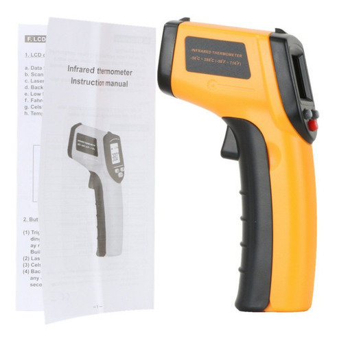 termometro digital infrarrojo laser - pirometro -50 a 380ºc