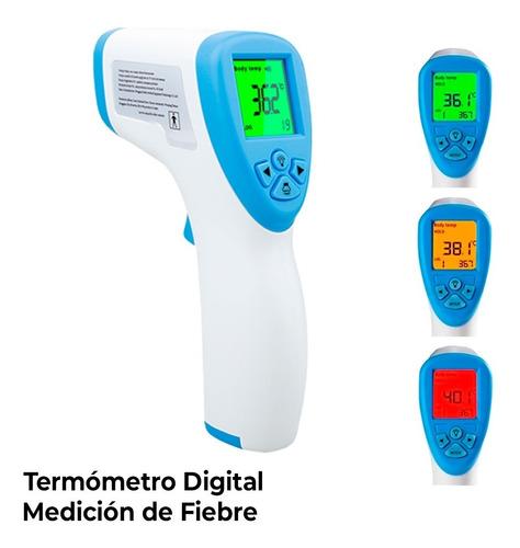 termómetro digital infrarrojo manual registro invima