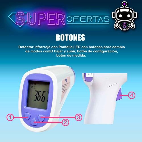 termometro digital infrarrojo medico importado + garantía