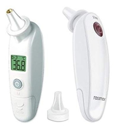 termometro digital  infrarrojo oído rossmax silfab ra600