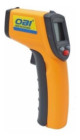 termómetro digital infrarrojo pistola con puntero láser obi