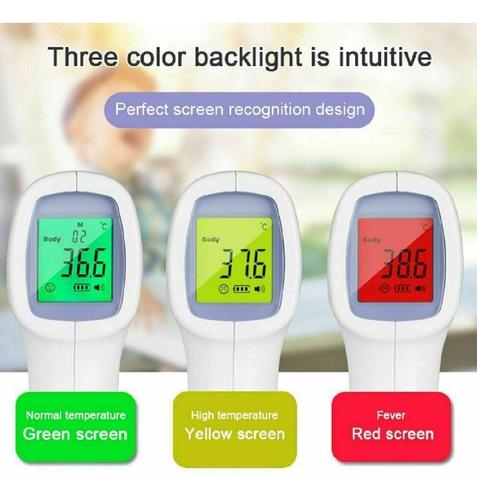 termometro digital infrarrojo sin contacto aprobado fda